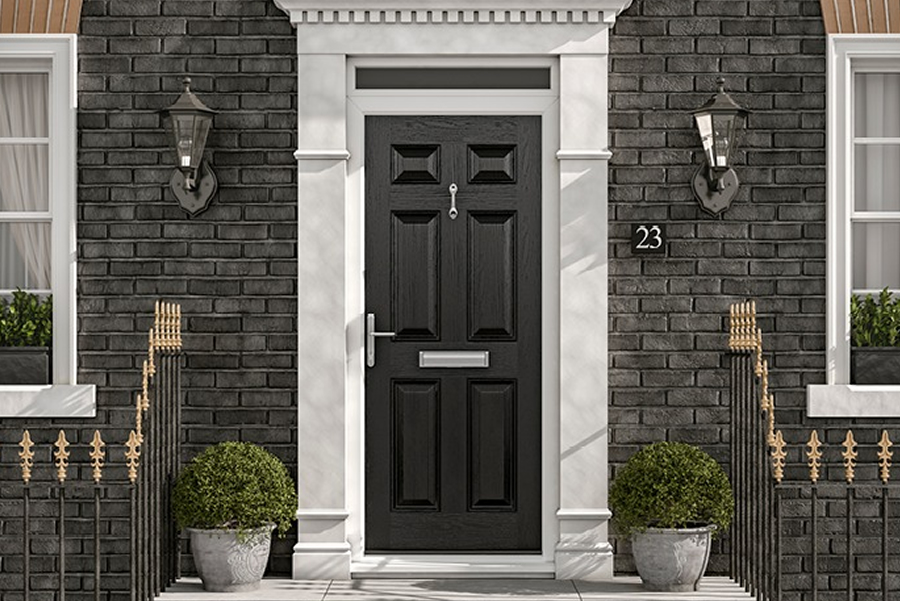 an image showing we supply and install many different types of doors
